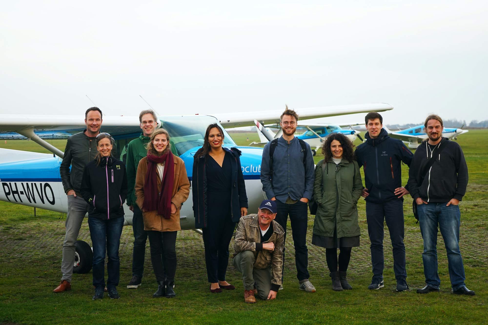 ATC groepsfoto Texel